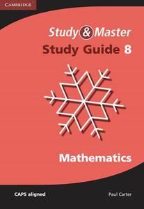 study master mathematics grade 8 study guide used copy rh eduguru co za Math Fundamentals Quick Study Guide Everyday Math Study Guides