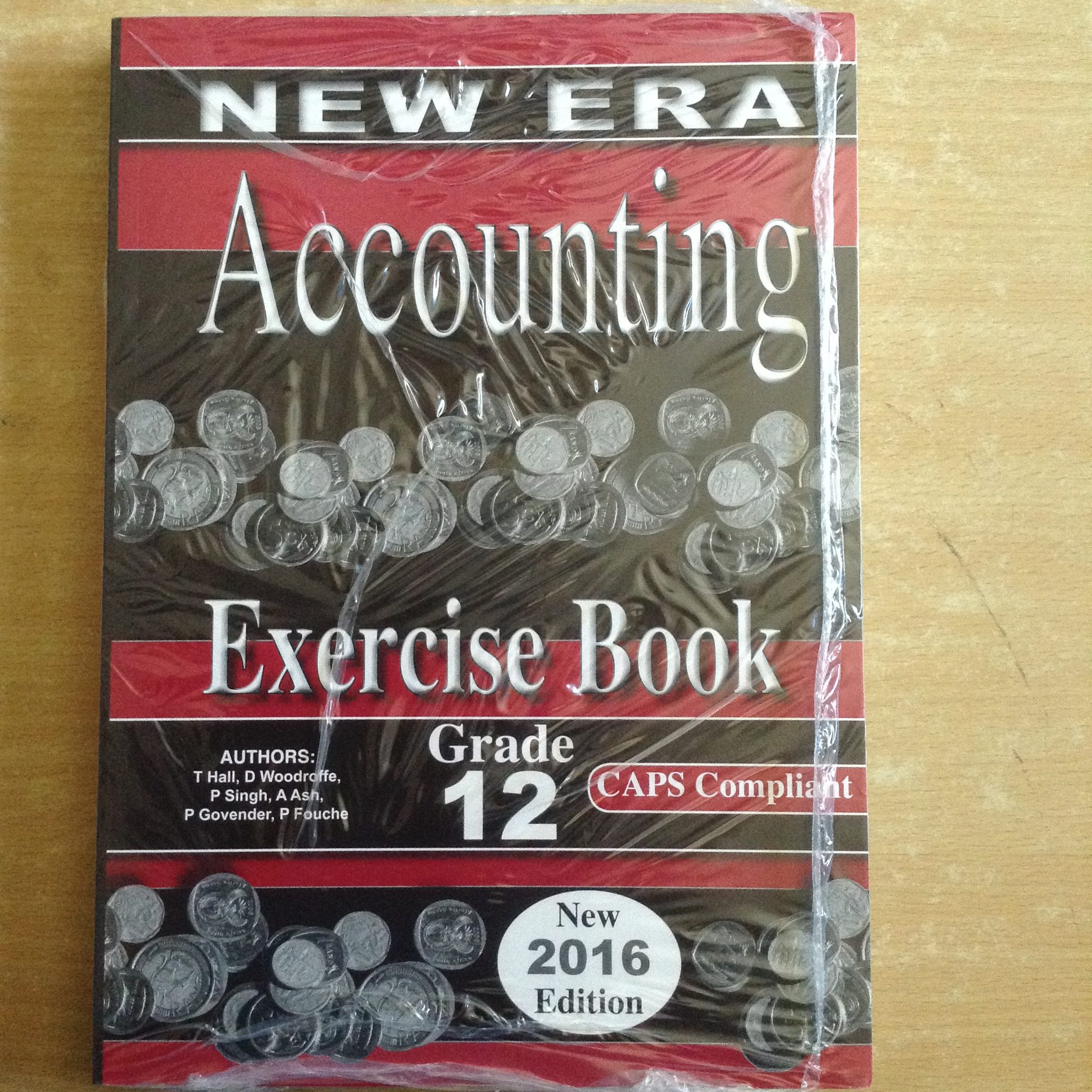 New Era Accounting Grade 12 Exercise Book & Study Guide ...